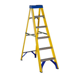 Picture of Fibre Glass Step Ladder 6 Rung